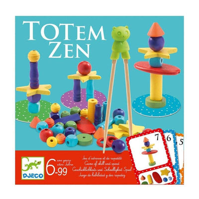 DJECO - Game of skill Totem Zen - Wooden game