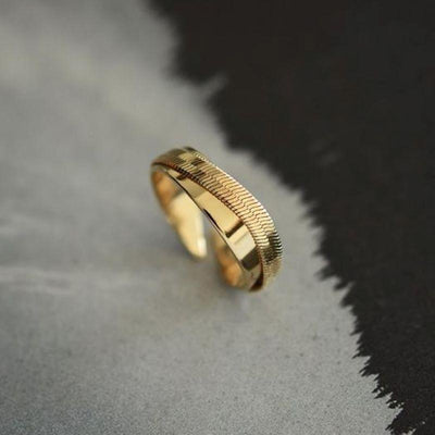 Geste ring - Gold