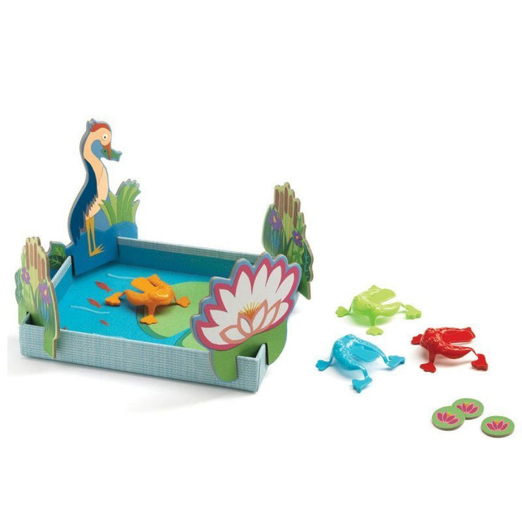 DJECO - Tiddlywinks game with frogs - Scene