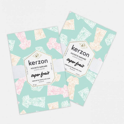 KERZON - scented sachets for laundry - super frais - cedar and ylang-ylang