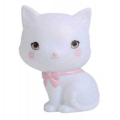 A Little Lovely Company - Cat lamp for children - cute and original nightlight decoration