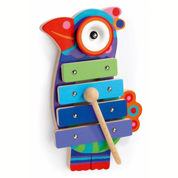 DJECO - Wooden xylophone - Bird shape