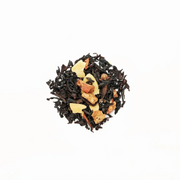 "KODAMA - ""mon petit soulier"" tea - black tea, tangerine, slivered almonds - christmas tea"