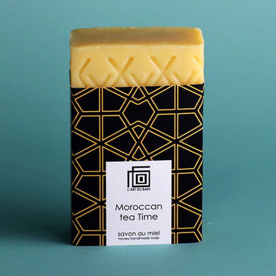 L'art du bain - Solid soap - morrocan tea time