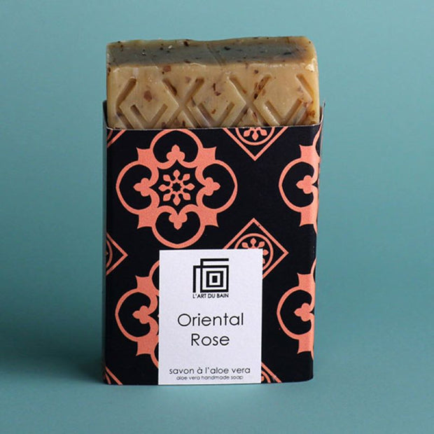L'art du Bain - Handmad Solid soap - oriental rose - fresh and delicate bodycare