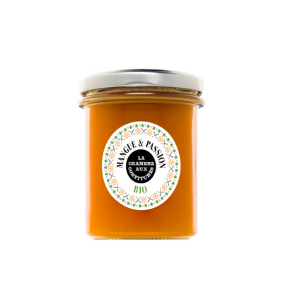 La Chambre aux confitures - Organic mango & passion fruit jam - made in France