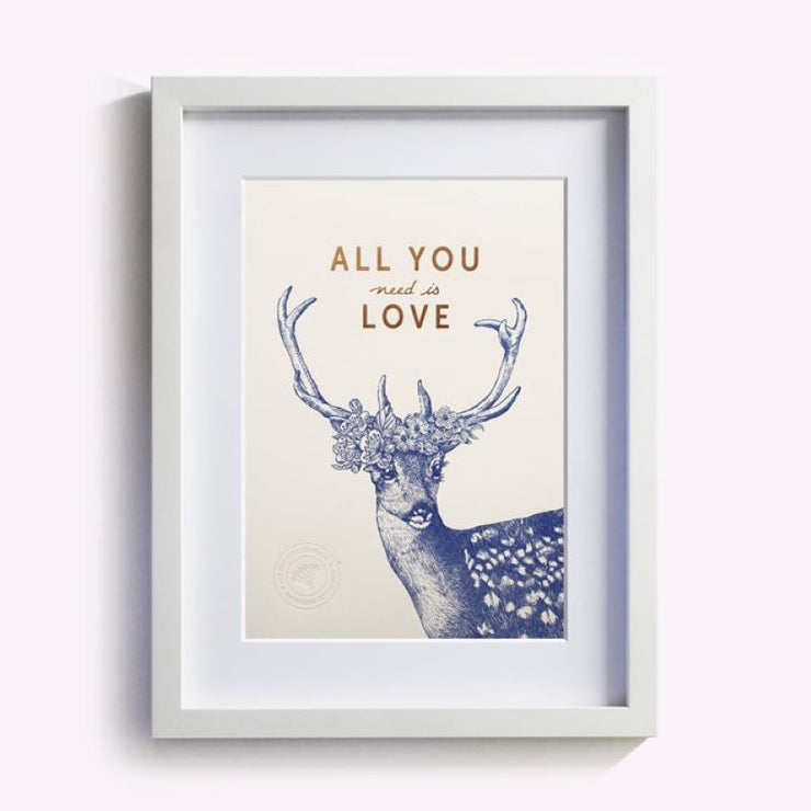 posters - All you need is love