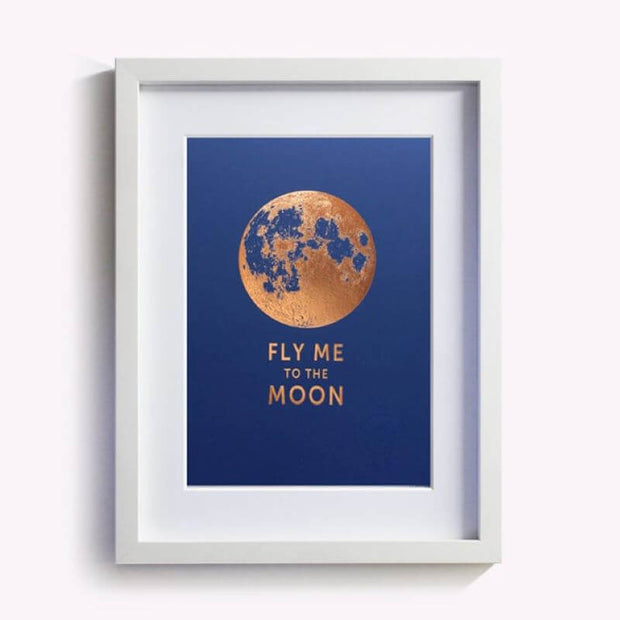Poster - Fly me to the moon