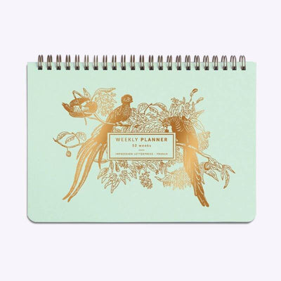 LES EDITIONS DU PAON - made in France weekly planner - paradis tropical