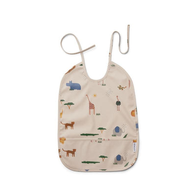 LIEWOOD - water repellent bib - safari