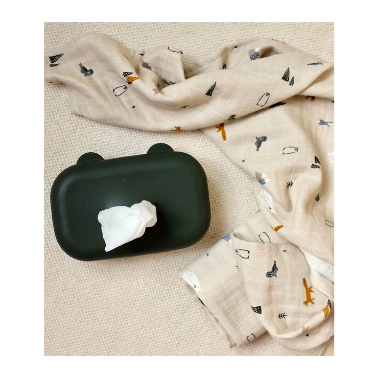 LIEWOOD - set of 2 swaddles - arctic mix - 100% organic cotton
