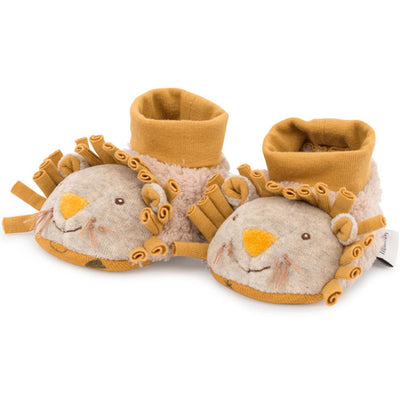 Lion slippers for babies - Moulin Roty