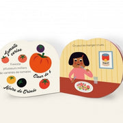 MARCEL & JOACHIM - Illustrated baby book - La tomate - Open