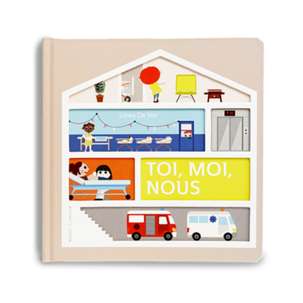 MARCEL & JOACHIM - Illustrated baby book - Toi moi nous