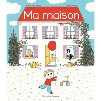 My house childrens book - French Blossom