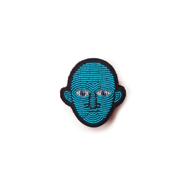 Embroidered brooch - Fantomas