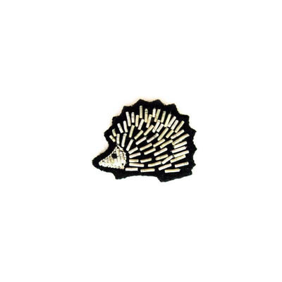 Embroidered brooch - Hedgehog
