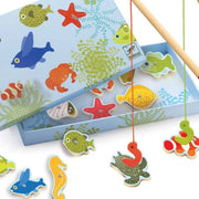 DJECO - Magnetic fishing game - Fishing tropic - Details