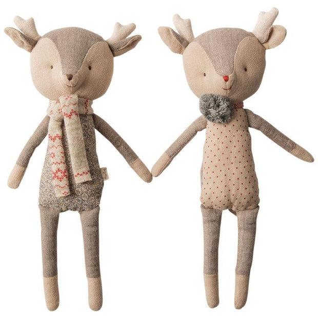 MAILEG - Reindeer dolls - Winter friends