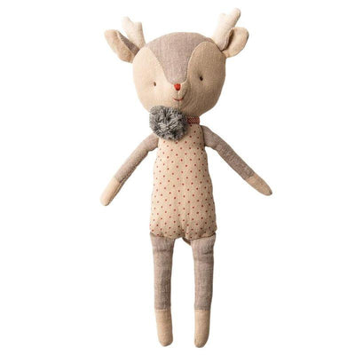 MAILEG - Girl reindeer doll