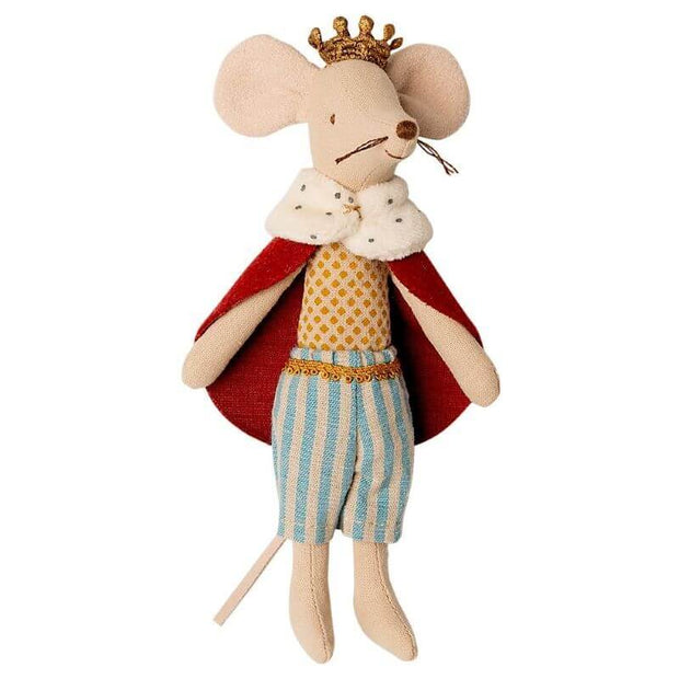 MAILEG - king mouse doll - original gift idea for kids