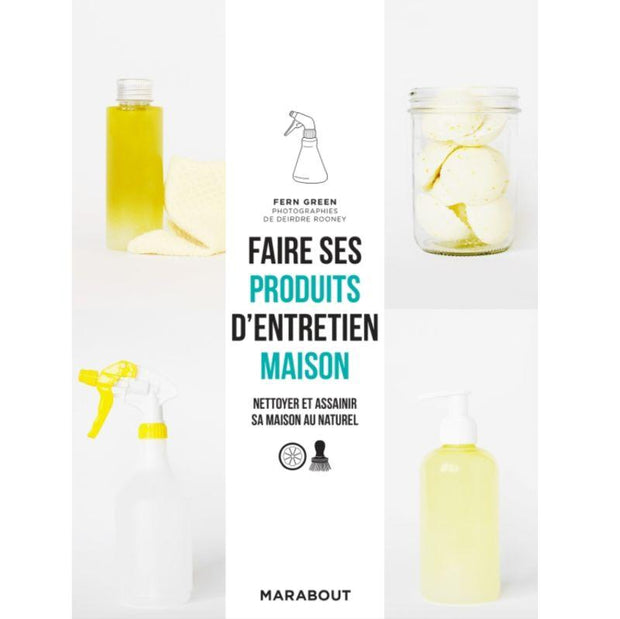 MARABOUT EDITION - Lifestyle book in French to learn how to make your own cleaning products at home