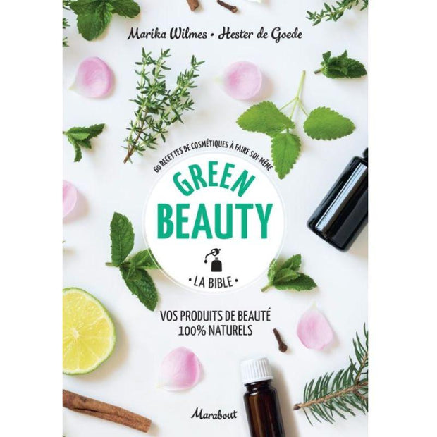 "MARABOUT EDITION - ""Green beauty"" book about homemade cosmetics in French"