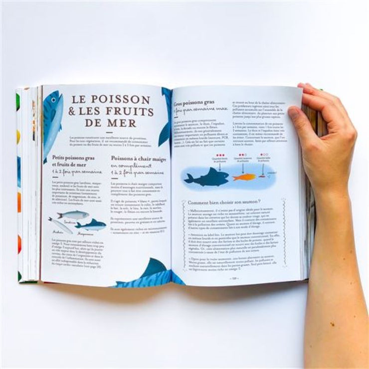 "MARABOUT - french editions recipe book - ""le guide Yuka de l'alimentation saine"""