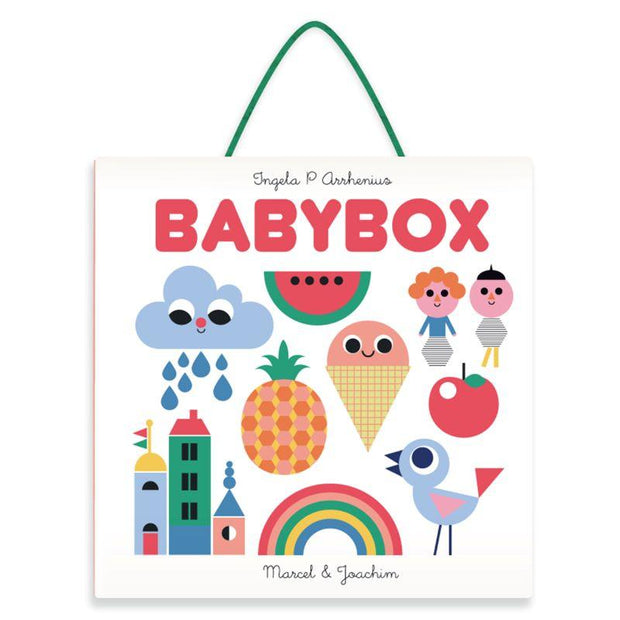 MARCEL & JOACHIM - Baby box set with baby books and mobile