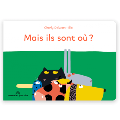 MARCEL & JOACHIM - french Baby book - Mais ils sont où ? - fun and cute