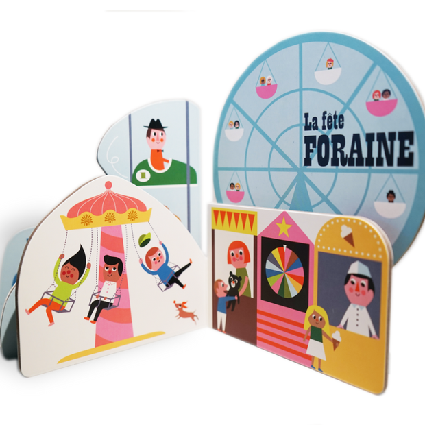 MARCEL & JOACHIM - Illustrated baby book - La Fête Foraine