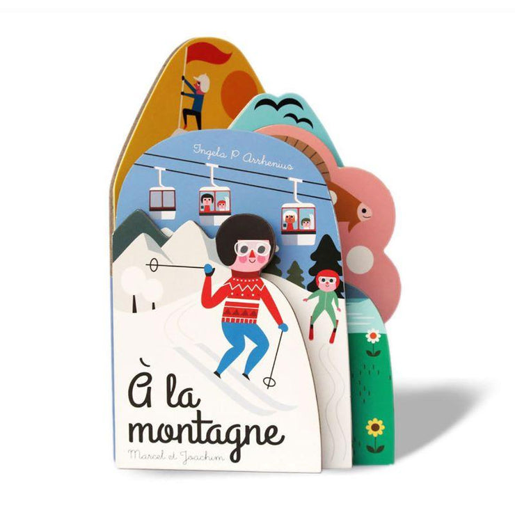 MARCEL & JOACHIM - Illustrated baby book - La Montagne