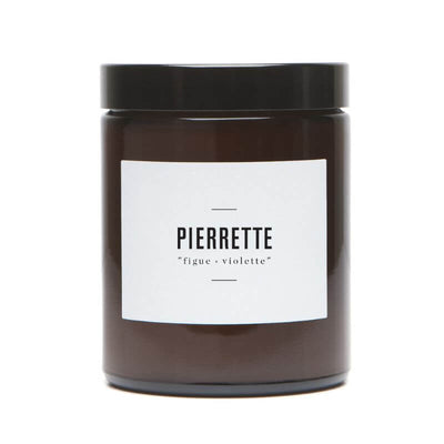 MARIE JEANNE - scented candle fig and violet leaf - Pierrette