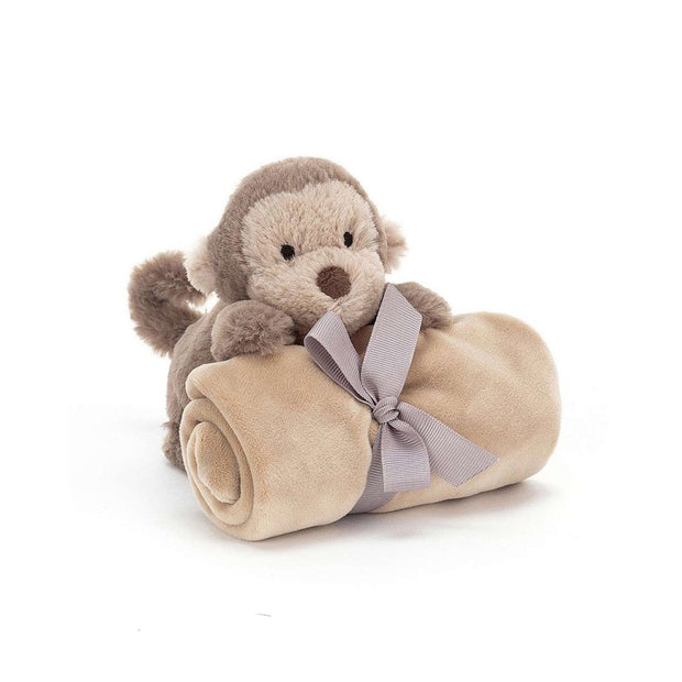 Soother toy monkey for babies - Jellycat