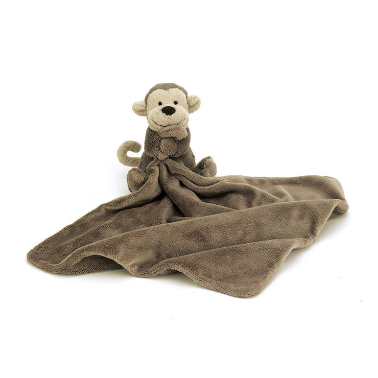 Jellycat monkey soother toy