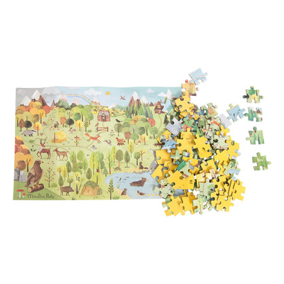 Explorer puzzle - The forest