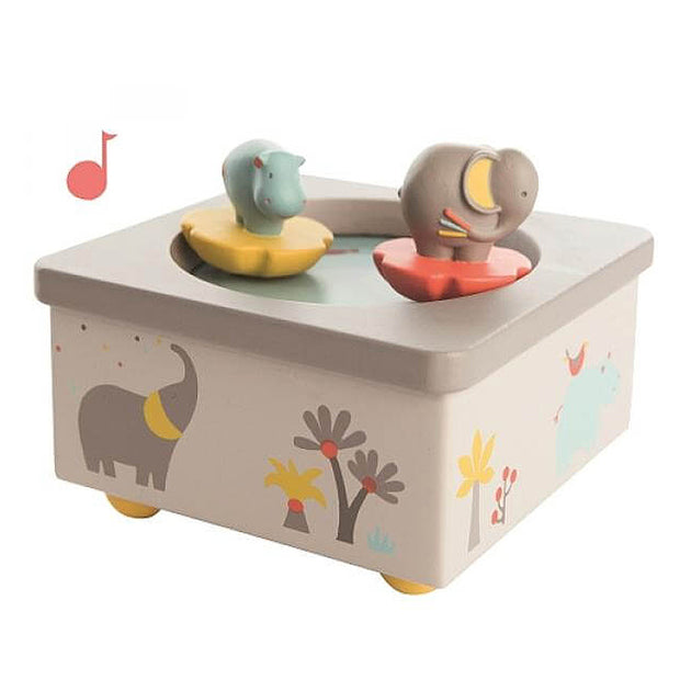 Childrens musical box - the Pampoums - Moulin Roty