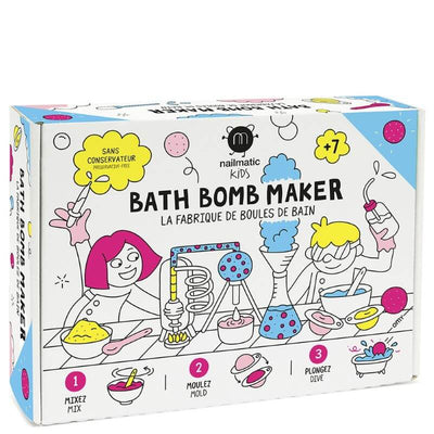 NAILMATIC KIDS - The bath bomb factory - activity for kids - make your own pretty bath bomb