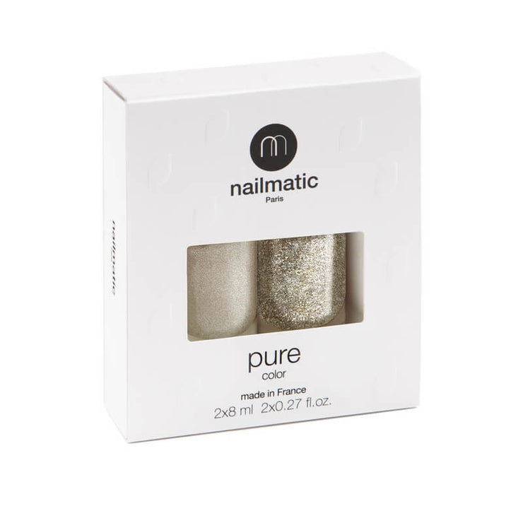 NAILMATIC - set of 2 nail polishes - Lucie & Victoria - made in France, vegan and cruelty free