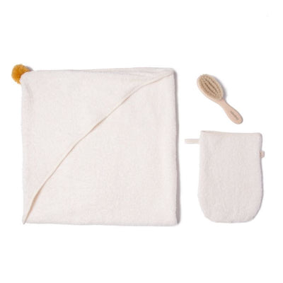 Nobodinoz - baby bath set - so cute natural