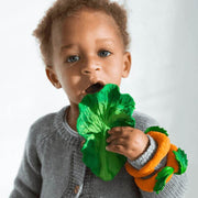 OLI AND CAROL - Kendall the Kale - vegetable teething toy - environmental friendly