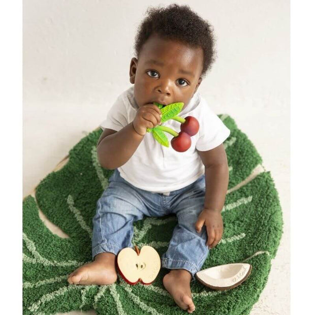 OLI AND CAROL - Mery the cherry - fruit teething toy - cute and original