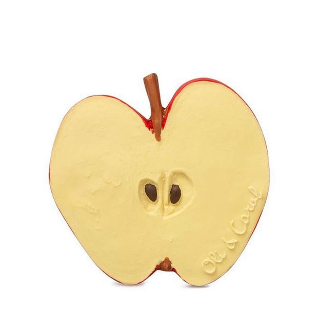OLI AND CAROL - Pepita the apple - fruit teething toy - adorable environmental friendly toy