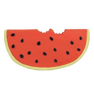 OLI AND CAROL - Wally the watermelon - fruit teething toy - adorable and colourful toy for baby