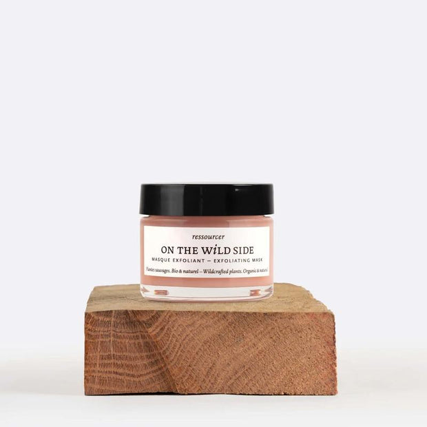 ON THE WILD SIDE - face exfoliating mask - 100% organic, vegan and cruelty free