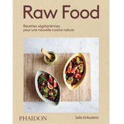 "PHAIDON FRANCE - ""Raw food"" - raw food recipe book"