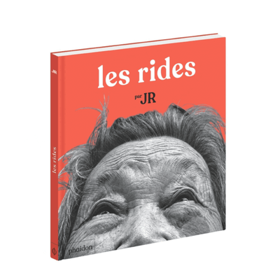 "PHAIDON FRANCE - children book about old people and natural beauty - ""Les rides"" by JR"