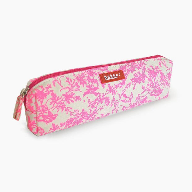 Bakker made with love - pencil case jouy pink