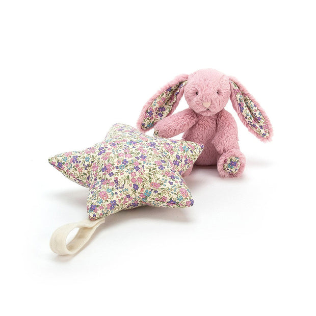Liberty rabbit musical toy - Jellycat