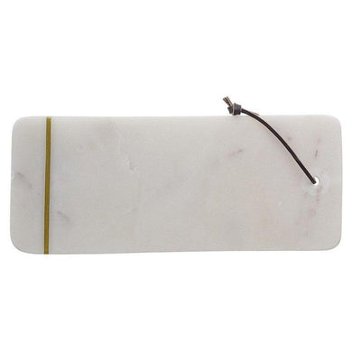 Cutting board - White marble